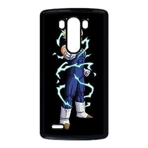 Vegeta Funda LG G3 Funda caja del teléfono celular Negro I5L0RB Phone Case DIY Protective