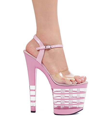 Ellie 821-stack 8 Puntige Stiletto Mule.