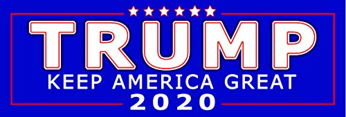 Trump | Keep America Great Bumper Sticker | Political Election Bumper Sticker