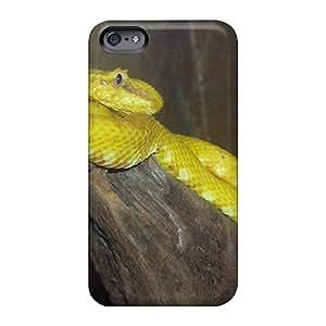 Apple Iphone 6 JBi14514uIMe Custom Colorful Yellow Viper Image Shockproof Hard Cell-phone Cases -AlissaDubois