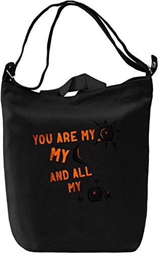 You Are My Galaxy Borsa Giornaliera Canvas Canvas Day Bag  100% Premium Cotton Canvas  DTG Printing 