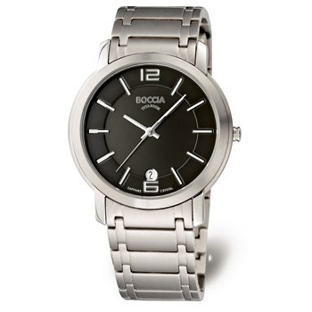 Boccia Trend 3552-02 Gents Watch with Metal Strap