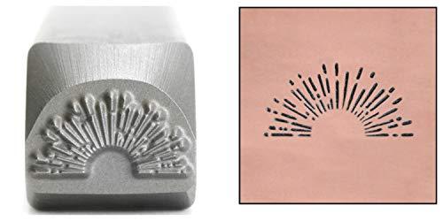 - Sunrise Metal Design Stamp, 11mm Sunset Sunburst Fireworks Punch Stamping Tool for Hand Stamped DIY Jewelry Crafts - Beaducation Original Metal Design Stamps