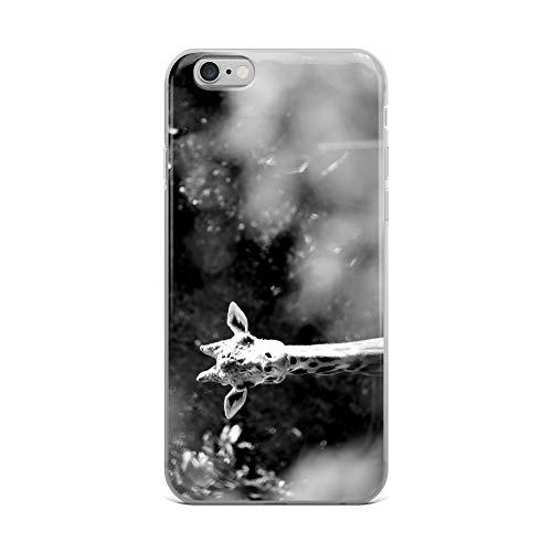iPhone 6 Plus/6s Plus Case Anti-Scratch Creature Animal Transparent Cases Cover of Giraffe Animals Fauna Crystal Clear ()
