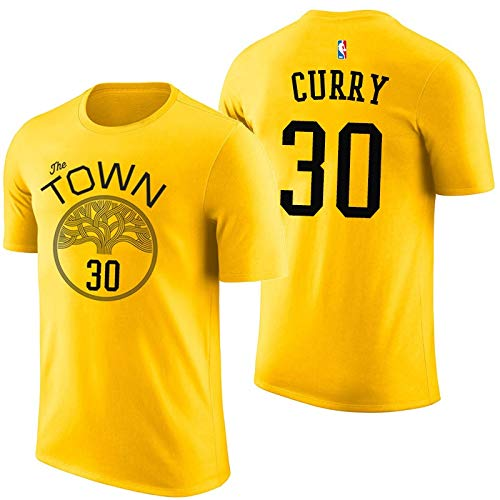 Hyzb 2019 New Season Warriors camiseta de manga corta camiseta Curry ...