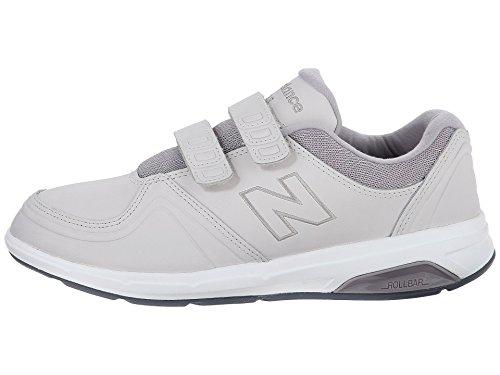 (ニューバランス) New Balance レディースウォーキングシューズ?靴 WW813Hv1 Grey 5 (22cm) D - Wide