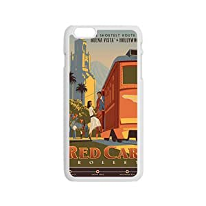 COBO Red Car Trolley Cell Phone Case for Iphone 6