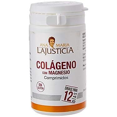 Ana-Maria-Lajusticia-Colageno-con-magnesio--75-comprimidos-articulaciones-fuertes-y-piel-tersa-Regenerador-de-tejidos-con-colageno-hidrolizado-tipo-1-y-tipo-2-Envase-para-12-dias-de-tratamiento