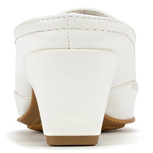 Sedona' RIALTO Mule White RIALTO Women's Sedona' qBfw4xTEE