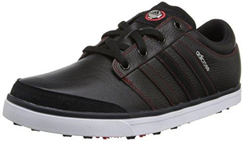 adidas Men's Adicross Gripmore Golf Shoe,Black/White,14 M US