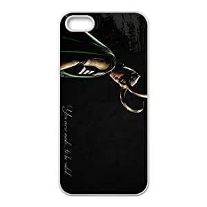 Actor Tom Hiddleston Cell Phone Case for Iphone 5s by ruishername