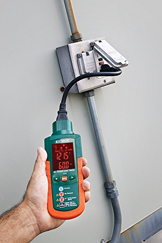 Electrical Load Tester : Extech ct ac circuit load tester street
