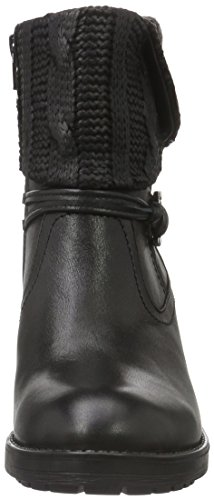 Femme Motardes Bottes Noir 001 Natural Be black 25309 1x6qUOntwa