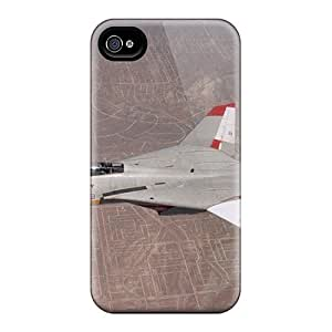 New Jeffrehing Super Strong Aircraft Wallpapers Firefighter Tpu Case Cover For Iphone 4/4s