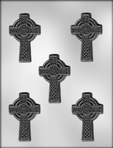 CK Products 3 Celtic Cross Choc Mold 90-7615