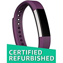 Fitbit Alta Wireless Activity and Fitness Tracker Smart Wristband, Plum, Large (6.7-8.1 in) (Certified Refurbished)