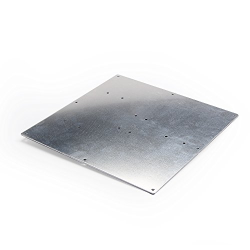 [3D Printer Aluminum Heated Bed Build Plate ,Aluminum plate for heatbed MK2 of 3D printer,220X220X2mm] (Aluminum Bed)