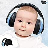 Baby Ear Protection - Noise Cancelling Muffs for Babies Infant Tots Toddler Child - Kids Hearing Protection Earmuffs - Sound Proof Noise Canceling Headphones - Ages Newborn to 3 Years - Blue