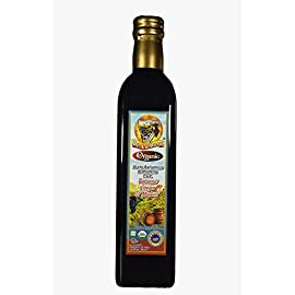 De La Rosa Real Foods & Vineyards - Organic Balsamic Vinegar of Modena (16.9 oz/500 ml) 109 100% Organic Balsamic Vinegar of Modena Kosher for Passover & all year around USDA Certified Organic. Vegan. GMO-Free. Gluten Free. No additives or Preservatives added