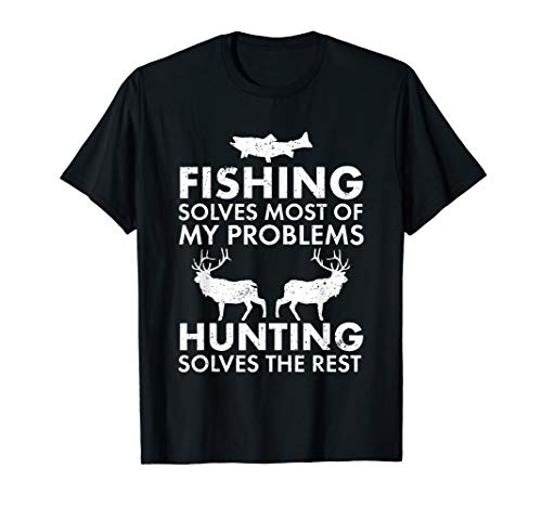 Funny Fishing And Hunting Shirt Hunter Cool
