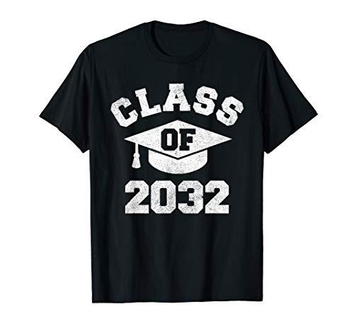 Vintage Kindergarten 2019 Class Of 2032 Apparel Grow With Me T-Shirt (Best Class T Shirts)