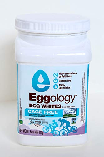 Eggology Certified Humane Cage Free Pure Egg Whites, 256 Ounce by Eggology (Image #1)