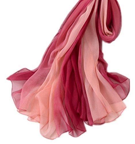 Femme Echarpe All pink Rot 5 wqS601q