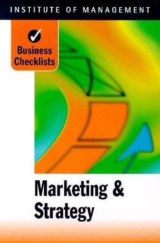 Marketing Strategy Checklists Institute Management Pdf 9678b0f1d Jak Ae Zbavit Akne