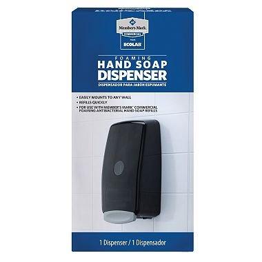 Members Mark Commercial Foaming Hand Soap Dispenser.