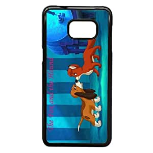 Personalized Durable Cases Samsung Galaxy Note 5 Edge Cell Phone Case Black Tvygh The Fox and the Hound Protection Cover