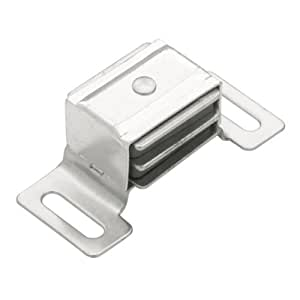 Liberty Hardware C082M2C-AL-P1 Aluminum Magnetic Catch