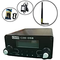 CZH 0.5W CZH-05B/CZE-05B Wireless Long Range Stereo Broadcast FM Transmitter Dual Mode Tnc Antenna Kit