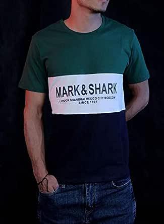 multi color t-shirt- mark&shark