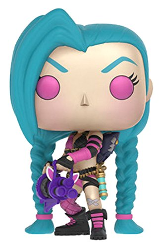 Funko - Pop! Vinilo Coleccion League of Legends - Figura Jinx (10