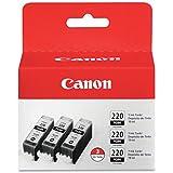 Canon PGI-220 Ink Cartridge Black 3pk