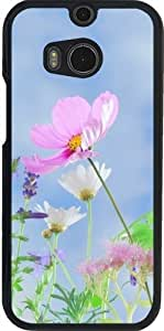 Funda para Htc One M8 - Flor Rosa by WonderfulDreamPicture