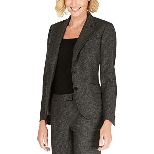 Anne Klein Two-Button Jacket Anne Black/Grey 6