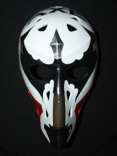 1:1 Custom Vintage Fiberglass Roller Ice Hockey Goalie Mask Helmet Gary Smith HO104