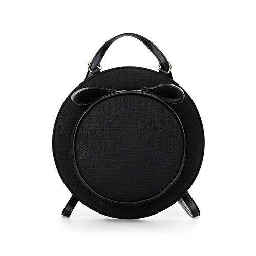 Tong Yue - Bolso mochila  para mujer, gris oscuro (gris) - TYUK0482-5 negro