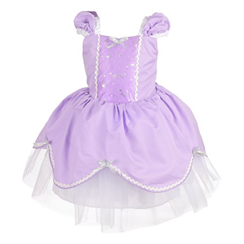 Dressy Daisy Baby Girls Princess Sofia Dress Costume Summer Dress up Size 18-24 (Sofia The First Baby Costumes)