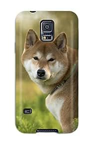 Jimmy E Aguirre's Shop 2101353K57993141 Fashion Case Cover For Galaxy S5(shiba Inu)