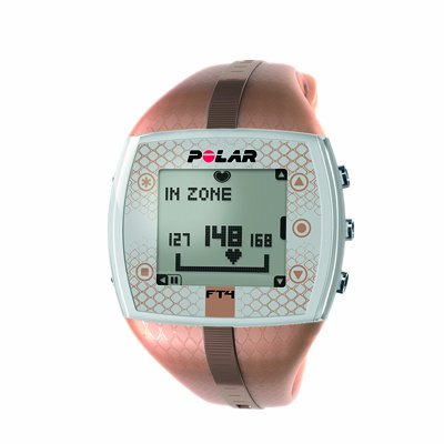 Heart Rate Monitor Watch - Polar_ FT4F - Bronze/Bronze - for Female