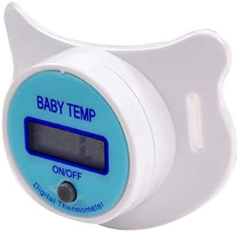 Mouth Pacifier Thermometer for Baby Infant Children Health Safety Care ZaRoing Soft Infant Baby Kid Nipple LCD Digital