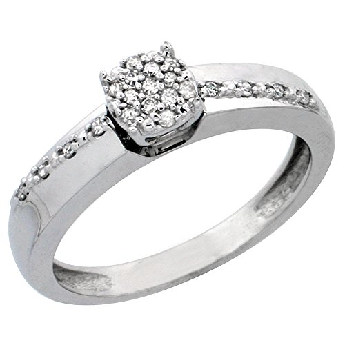 0.14 Ct Mens Diamond - 6