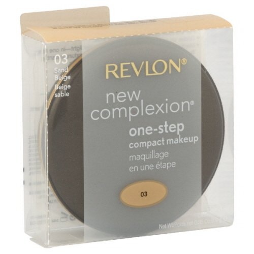 Revlon New Complexion One Step Compact Makeup Sand Beige (2-Pack) (Revlon One Step)