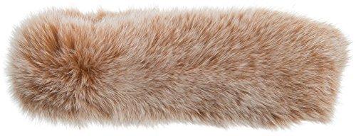 Finn Fox Fur Convertible Headband and Neck Warmer by Overland Sheepskin Co