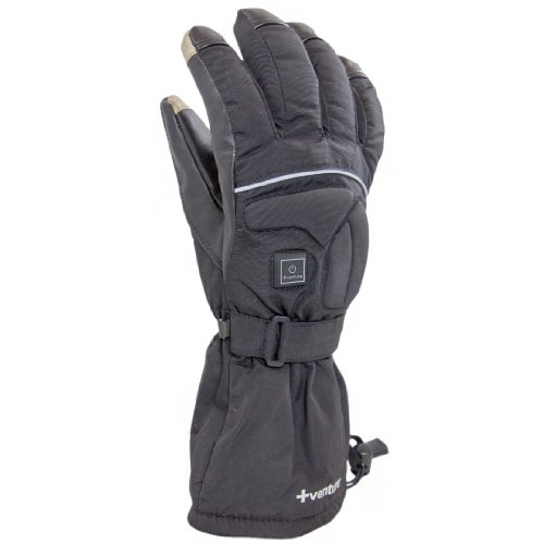 VentureHeat Epic 2.0 Battery Heated Gloves (Black, - Windproof Epic Gloves