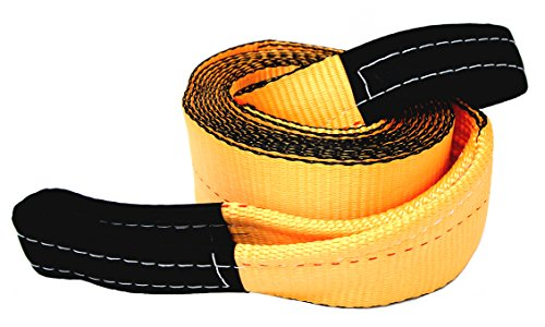 Tanaka 4″ Super Duty 35,000 LB rated Recovery Tow Strap (4″ x 30′)