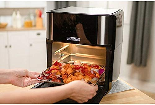 Cookshop Digital Airfrying Multifunctional Oven 12L with Accessories