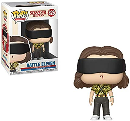 Funko- Pop Vinilo: Stranger Things: Battle Eleven Figura ...